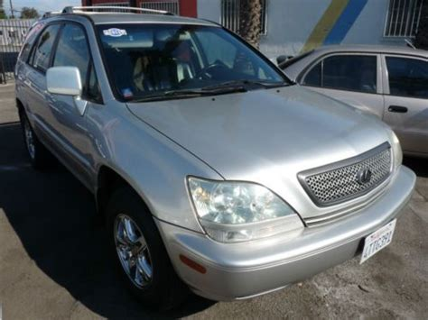 auto body repair training 2001 lexus rx seat position control sell used 2001 lexus rx300 silversport edition base sport utility 4 door 3 0l in south el monte