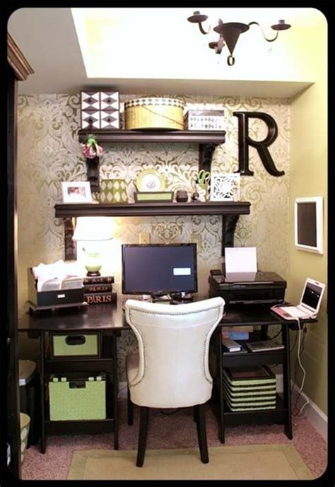 small desk area ideas classy and girly office home pinterest offices