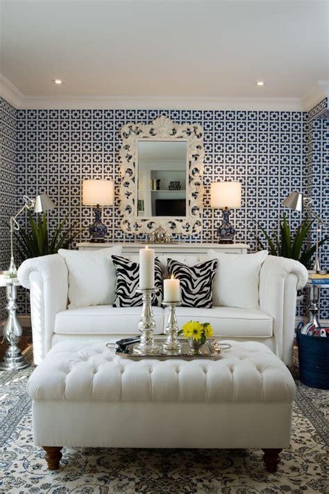 living spaces  zebra print accents