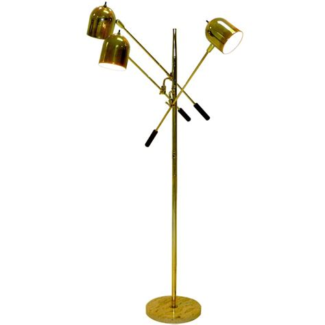 3 bulb floor l brass finish 3 arm articulating floor lamp a jpg