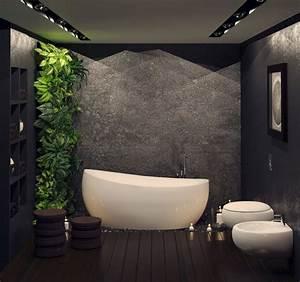 Moderne Wandgestaltung Bad : moderne wandgestaltung im bad 30 ideen und beispiele ~ Sanjose-hotels-ca.com Haus und Dekorationen