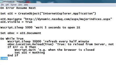on error resume next vbscript resume ideas
