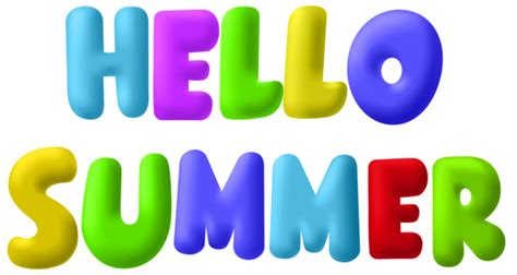 Hello Summer PNG Clip Art Image | Gallery Yopriceville ...