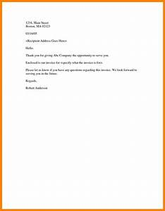 9 invoice covering letter emt resume With bill submission covering letter