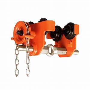 2 Ton Manual Chain Geared Beam Trolley 4400lbs 2 8 U201d To 8