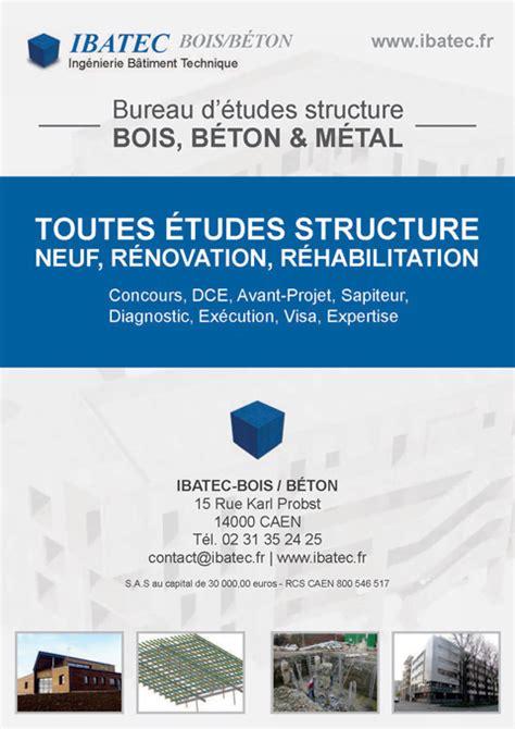 bureau d etude beton ibatec béton bureau d 39 études structure béton à caen 14