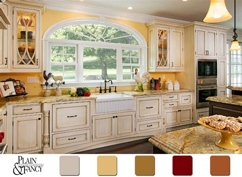 country kitchen colors home design