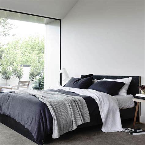 chambre en noir et blanc déco épurée d 39 une chambre en noir et blanc picslovin