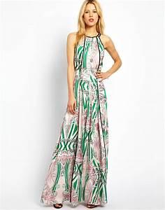 la robe longue d39ete 65 belles variantes archzinefr With robe longue pas cher d été
