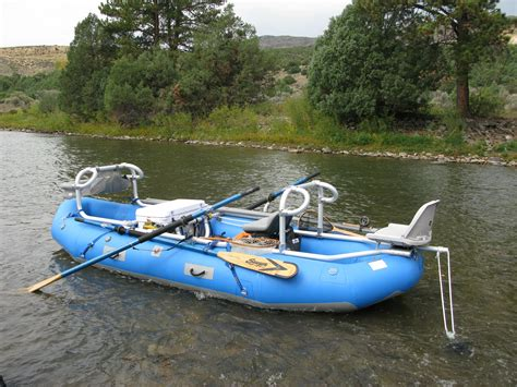 Fly Fishing Inflatable Boat by Dragonfly Self Bailing Raft Jacks Plastic Welding