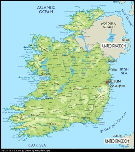 map  ireland map  republic  ireland map eire map