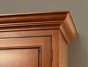 crown molding ideas for kitchen cabinets cabinet crown molding the finishing touch