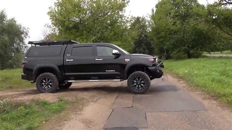 toyota tundra  tuning  road youtube