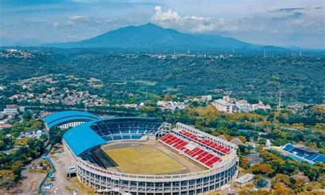 gambar stadion jatidiri semarang terbaru desain gor
