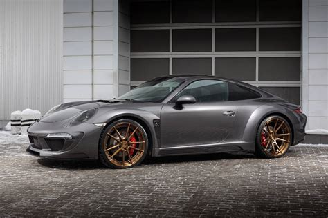Porsche 911 Carrera 4s Shows Off Topcar's Stinger Body Kit