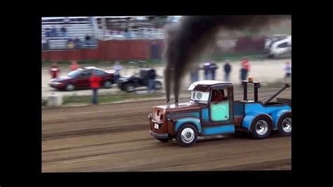 tow mater pulling semi  turbos youtube
