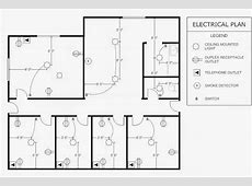 Electrical Engineering World Office Electrical Plan