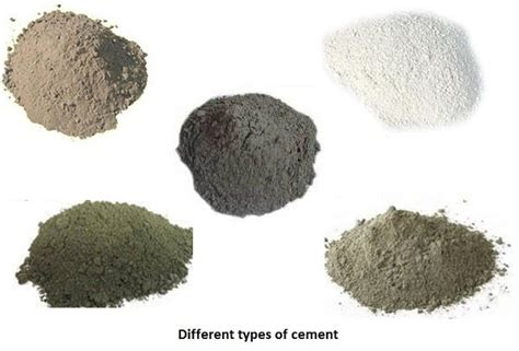 What Are The Different Types Of Cement?