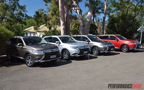 2016 Mitsubishi Outlander Review  Australian Launch