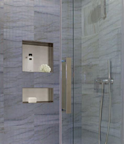 shower recessed shelves montaggio recessed mounting shower niche