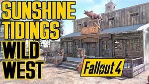 Fallout 4 - Sunshine Tidings Wild West Style - Settlement ...