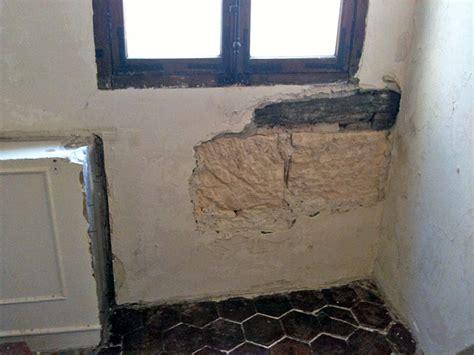 renover mur en interieur conseils bricolage ma 231 onnerie r 233 novation d un mur int 233 rieur gros blocs de