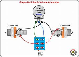 Switchable Volume Attenuator Wiring Diagram