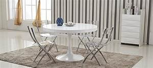 Tables Rondes Extensibles : table manger design en bois isola ~ Teatrodelosmanantiales.com Idées de Décoration