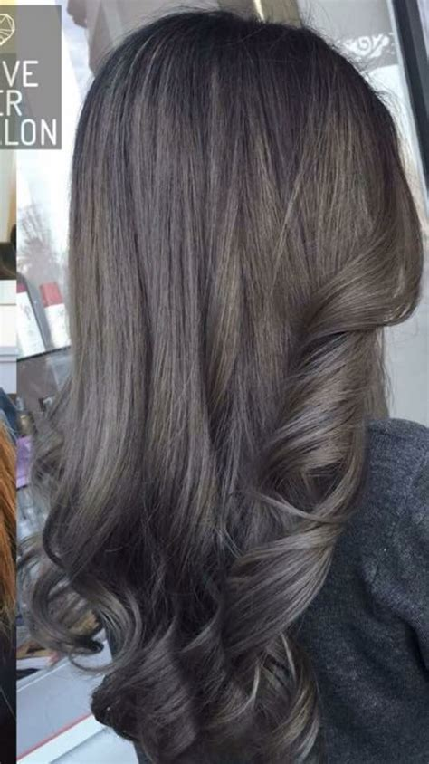 dark ash brown hair hair cuts color   hair