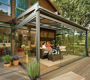 Enclosed Patio Pictures and Ideas