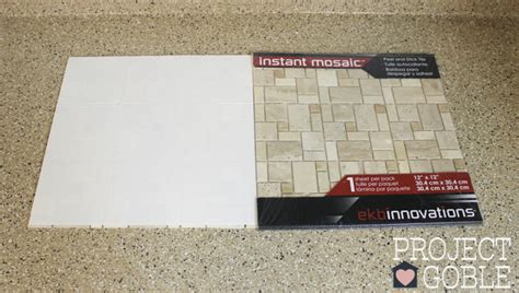 how to install kitchen tile how to install a peel stick mosaic tile kitchen
