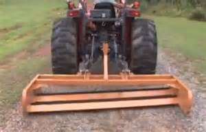 Tractor Attachments Land Leveler