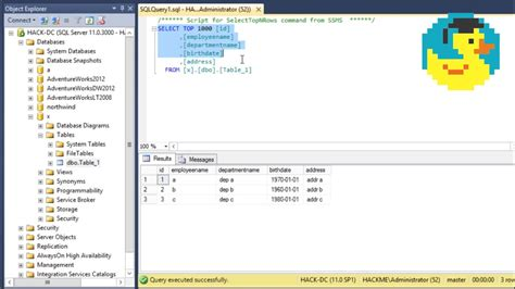 Sql Basics And Creating A Simple Database