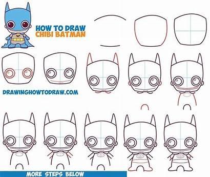 Draw Step Easy Beginners Drawing Batman Comics