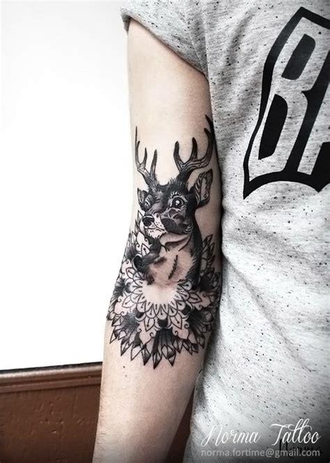 cerf tattoo deer tattoo mandala  norma tattoo norma