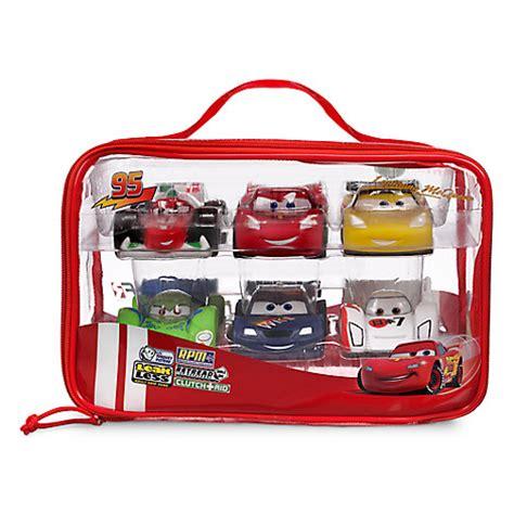 cars bath toy set disney store