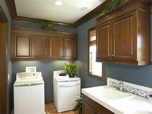 laundry room sinks pictures options tips ideas hgtv With best brand of paint for kitchen cabinets with laundry room wall art ideas