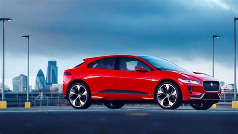 Jaguar's First Electric Car Hits London's Roads  Meet The