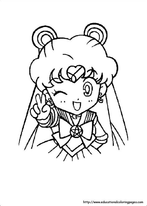 moon coloring pages for preschoolers coloring pages 498 | sailormoon 04