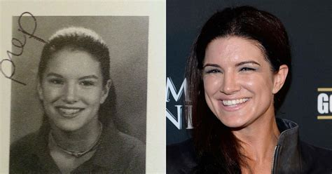 selling signed gina carano high school yearbook  ebay
