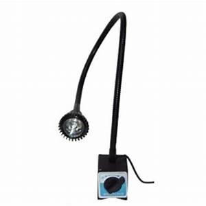 Lampe D Atelier Led : lampe led base magn tique maison du tournage ~ Edinachiropracticcenter.com Idées de Décoration