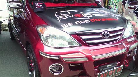 Modivikasi Mobil Avanza G 1 3 by 94 Modifikasi Mobil Avanza 2010 Warna Hitam 2018