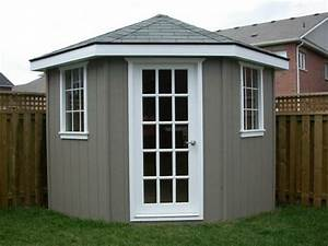 best 25 corner sheds ideas on pinterest small garden With corner outdoor storage shed