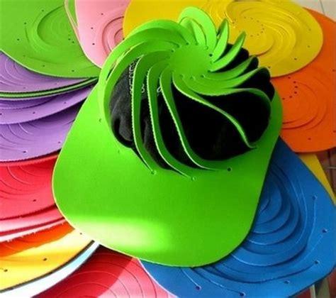 moldes de gorras en foami paso a paso imagui goma 3d