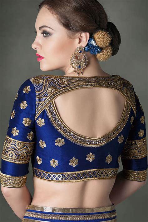 Latest blouse back neck hole designs - Fashion Beauty ...