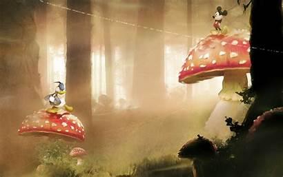 Mickey Mouse Disney Donald Duck Mushrooms Company