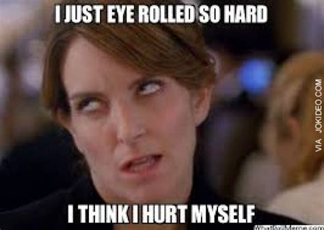 Eye Roll Meme - reaction pic eye roll