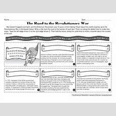 """the Road To The Revolutionary War"" Worksheet Reviews"