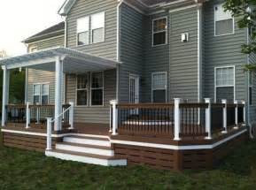deck skirting ideas other than lattice 25 best ideas about deck skirting on front