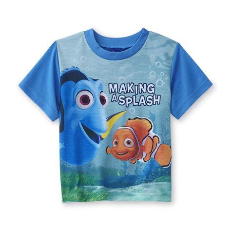 Disney Finding Nemo Toddler Boy's Graphic Pajama T-Shirt ...